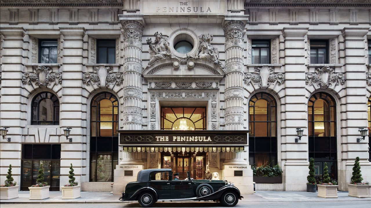 The Storied Peninsula Hotel in New York City: 1905 Architecture Meets Hillary Clinton in 2016